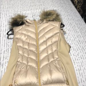 Brand new Michael Kors gold vest